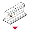 bar And Stud To Rail